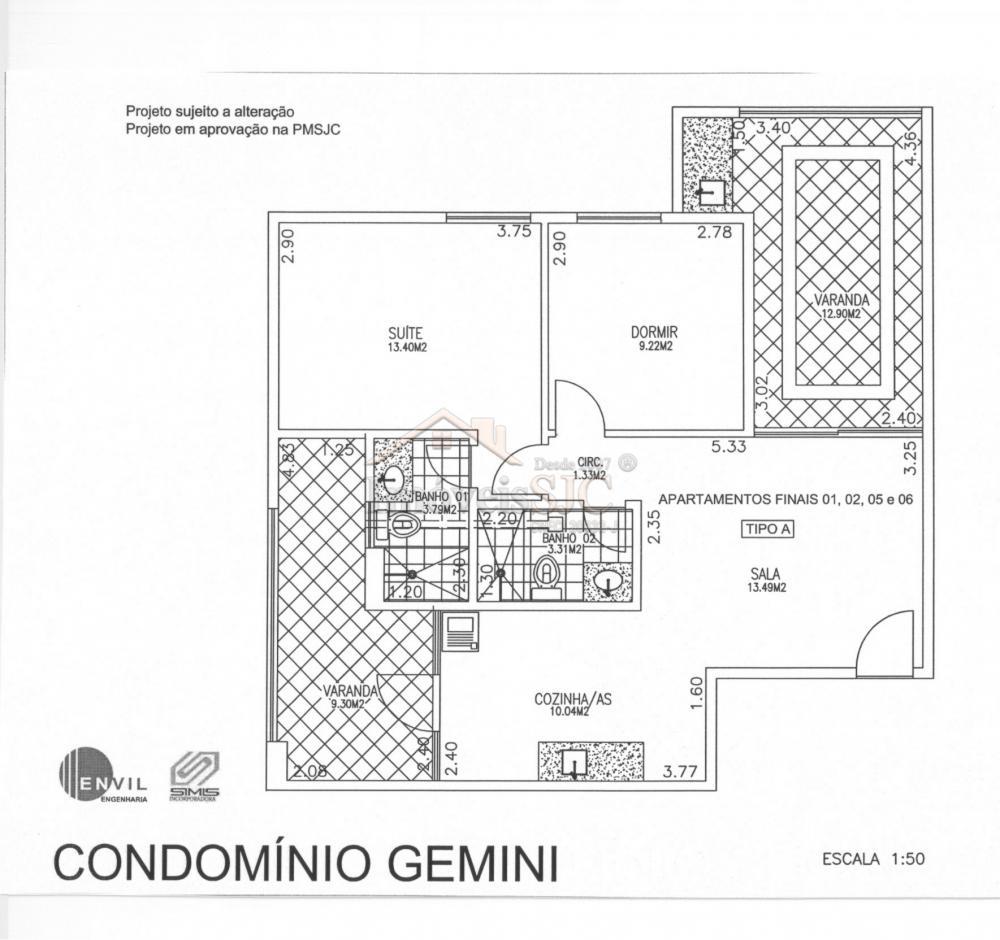 Comprar Apartamentos / Padrão em São José dos Campos apenas R$ 605.000,00 - Foto 2